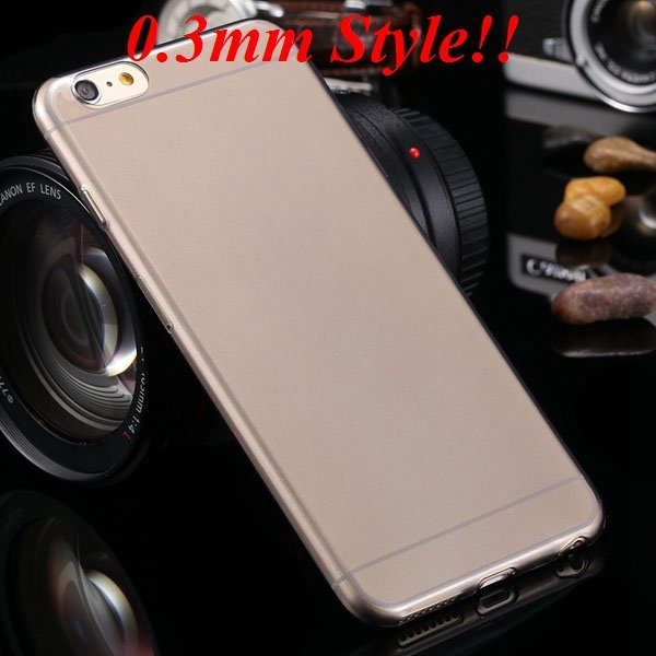 I6 Plus Tpu Clear Case Ultra Thin Flexible Soft Cover For Iphone 6 32237203163-1-Thin black