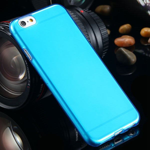 For Iphone 6 Clear Case Full Flip Cover For Iphone 6 4.7Inch Soft  2031725281-4-blue