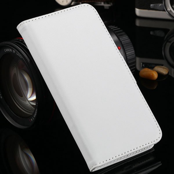 I6 Flip Case Photo Frame Pu Leather Cover For Iphone 6 4.7Inch Ful 2016906622-3-white
