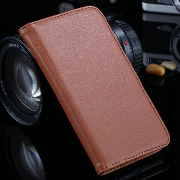 I6 Flip Case Photo Frame Pu Leather Cover For Iphone 6 4.7Inch Ful 2016906622-4-brown