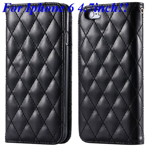 I6 Full Case Magnetic Protect Phone Case For Iphone 6 4.7Inch Flip 32261161199-1-black