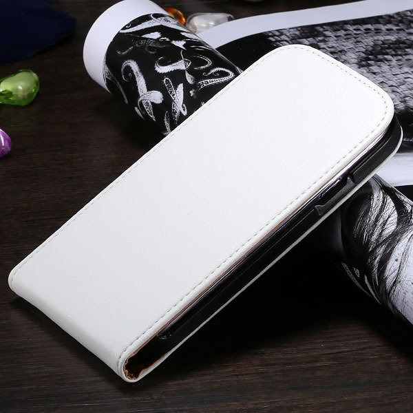 S3 Genuine Leather Case Flip Vertical Cover For Samsung Galaxy Sii 1790519925-2-white