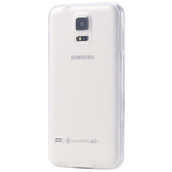 S5 Clear Tpu Case 0.3Mm Soft Rubber Back Cover For Samsung Galaxy  32297857781-3-clear