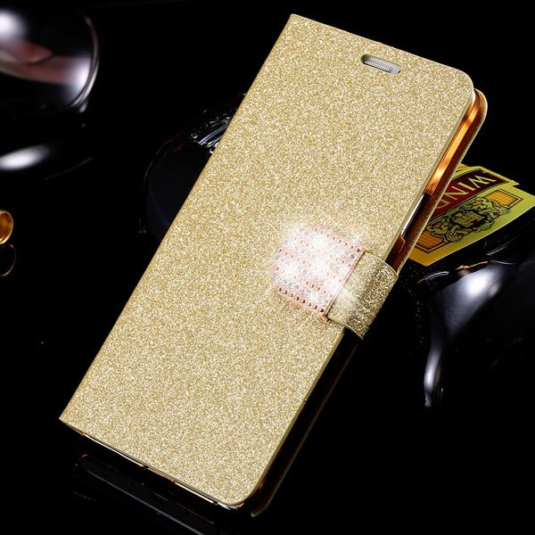 For Note 4 Luxury Bling Rhinestone Case Full Wallet Cover For Sams 32275829676-1-gold