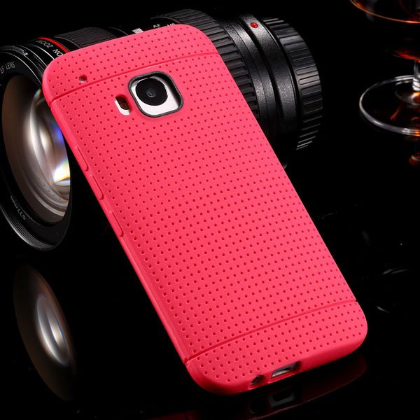 M9 Flexible Silicone Case Soft Tpu Protect Cover For Htc One M9 Ru 32302707840-6-rose