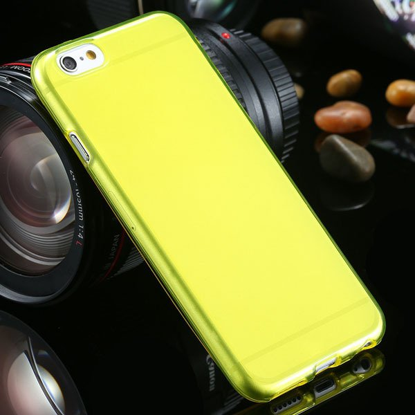 For Iphone 6 Clear Case Full Flip Cover For Iphone 6 4.7Inch Soft  2031725281-5-yellow