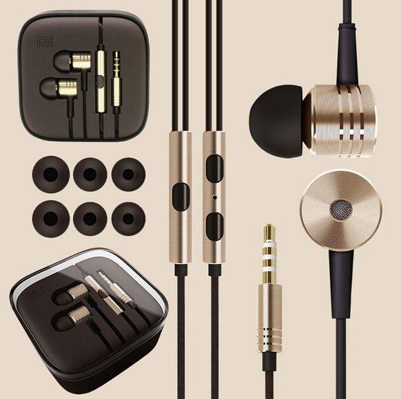 New 1Pcs Top Quality Metal Piston Earphones Headphones Headset Wit 1911714937-2-Silver