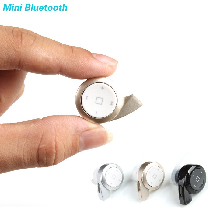 New 2014 Stereo Headset Bluetooth Earphone Headphone Mini V4.0 Wir 2052599763-3-Gold