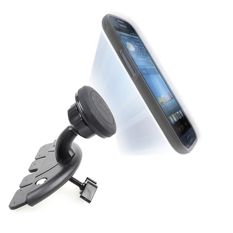 New Auto Bracket Car Cd Player Mount Magnet Magnetic Phone Mobile  32242073649-1-