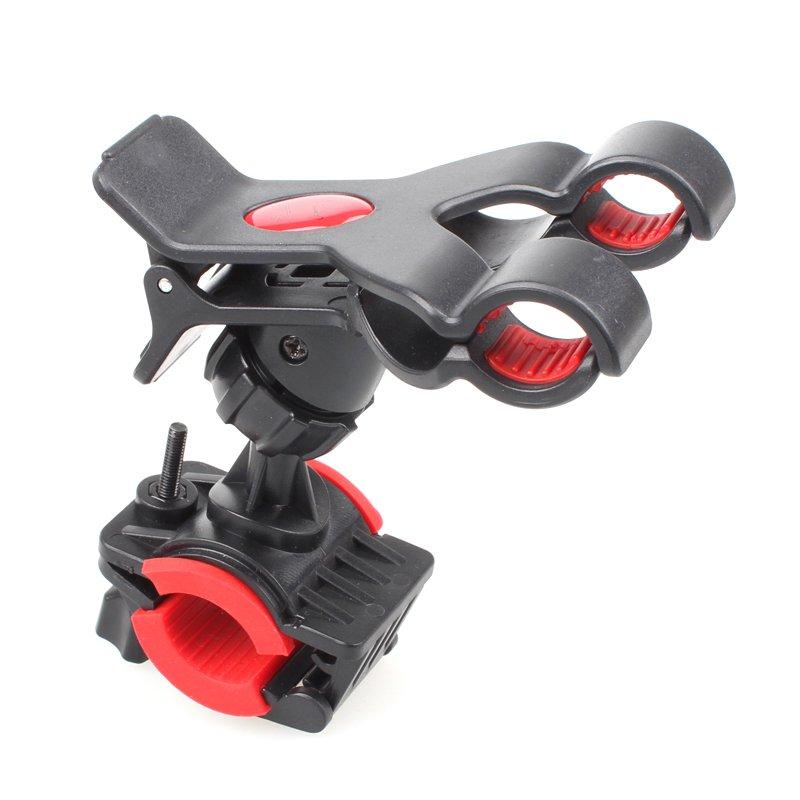 Bike Bicycle Motocycle Dual Clip Holder Handlebar Bracket Stand Fo 32242620331-1-