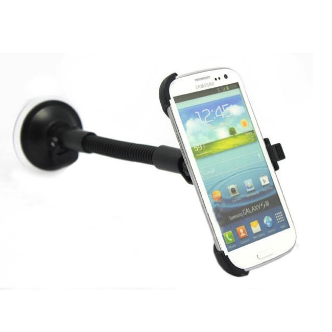 Simple Car Mount Holder Suction Cradle Stand For Samsung Galaxy S3 1131127630-1-
