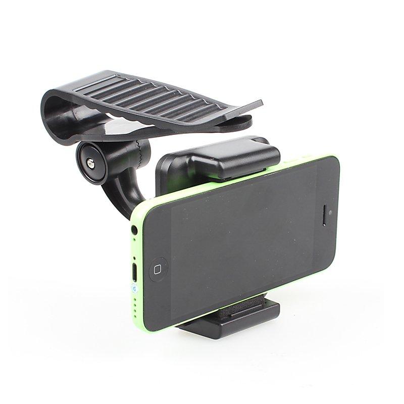 Car Sun Visor Sunvisor Universal Phone Mobile Gps Holder For Iphon 32242097164-1-