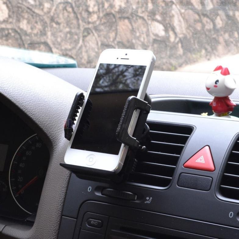 1 Pc Black 360 Car Air Vent Mount Cradle Holder Stand For Mobile S 32275257061-1-