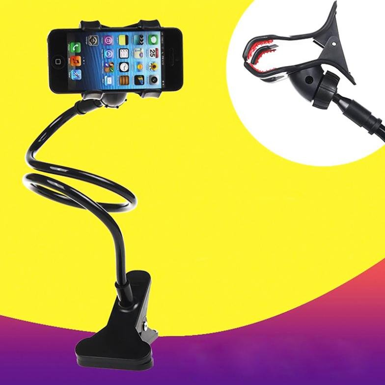1 Pc Universal Lazy Bed Desktop Car Stand Mount Holder For Phone I 32276417077-1-