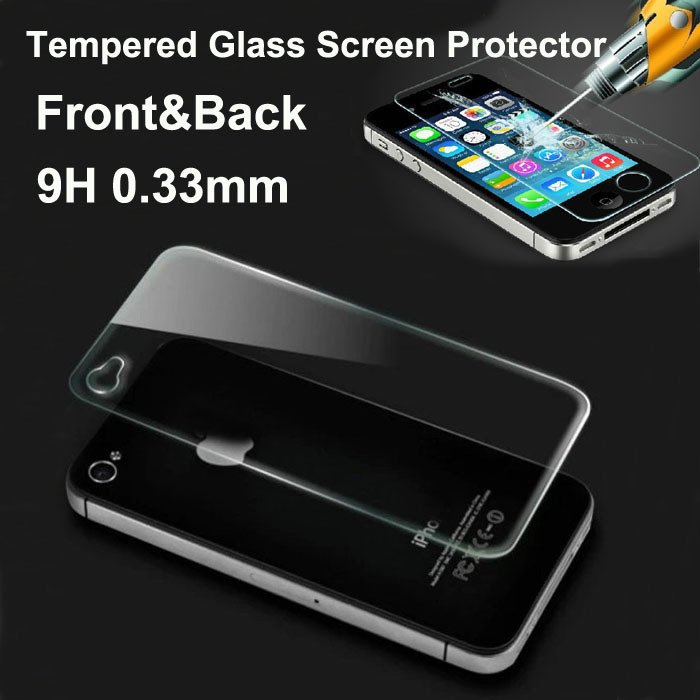 2014 New 0.33Mm Front And Back Premium Tempered Glass Screen Prote 2027575345-1-
