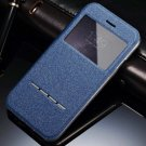 Luxury Smart Answer Window View Flip Leather Case For Iphone 6 4.7 32312232429-3-Blue