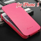 Vintage Genuine Leather Flip Phone Bag For Iphone 5 5S 5G New 2015 657707157-4-style 1 iP5 rose