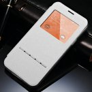 View Window Display Flip Leather Case For Samsung Galaxy S5 I9600  32311976323-2-White