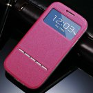 Window View Smart Case For Samsung Galaxy S3 I9300 I9305 Magnetic  32311696779-4-Rose