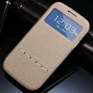 Window View Smart Case For Samsung Galaxy S3 I9300 I9305 Magnetic  32311696779-6-Champagne Gold