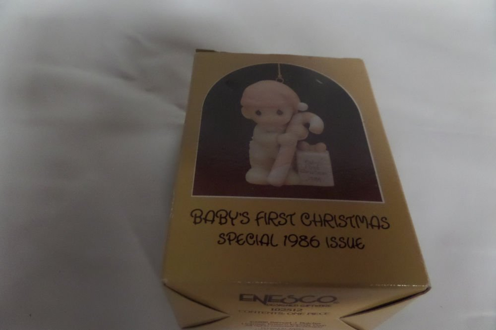 Precious Moments Baby's First Christmas Special 1986 Issue 102512