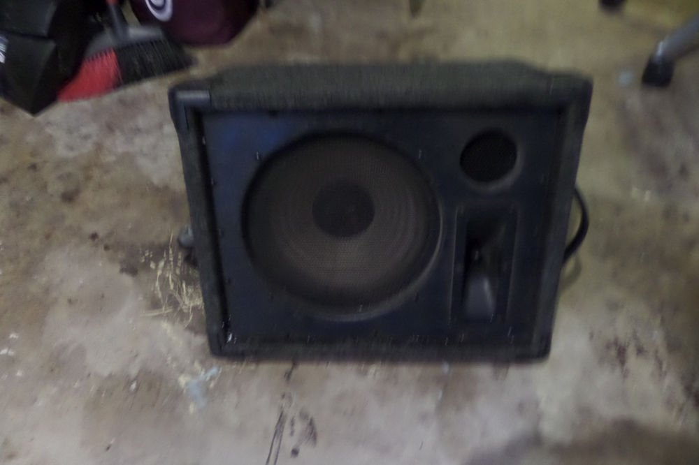 Crate Model PFM-60 Powered Floor Monitor Speaker - 60 Watts, 4 ohms