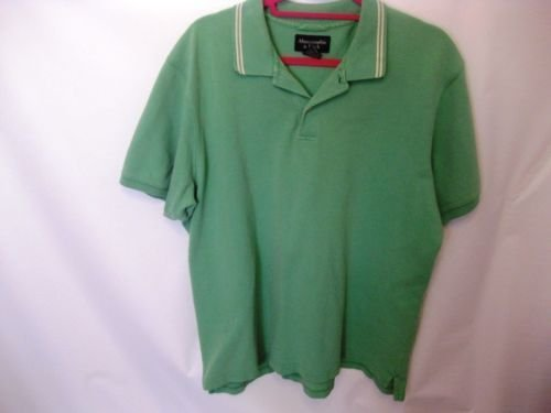 EUC Men's XL Abercrombie & Fitch Light Green Cotton Polo Shirt
