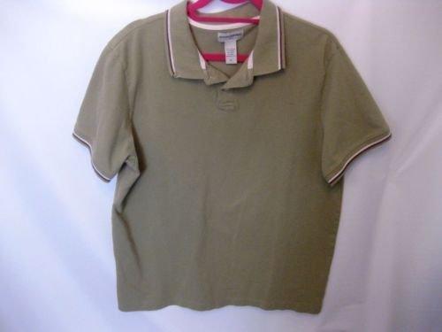 EUC Men's XL Banana Republic Green Cotton Polo Shirt