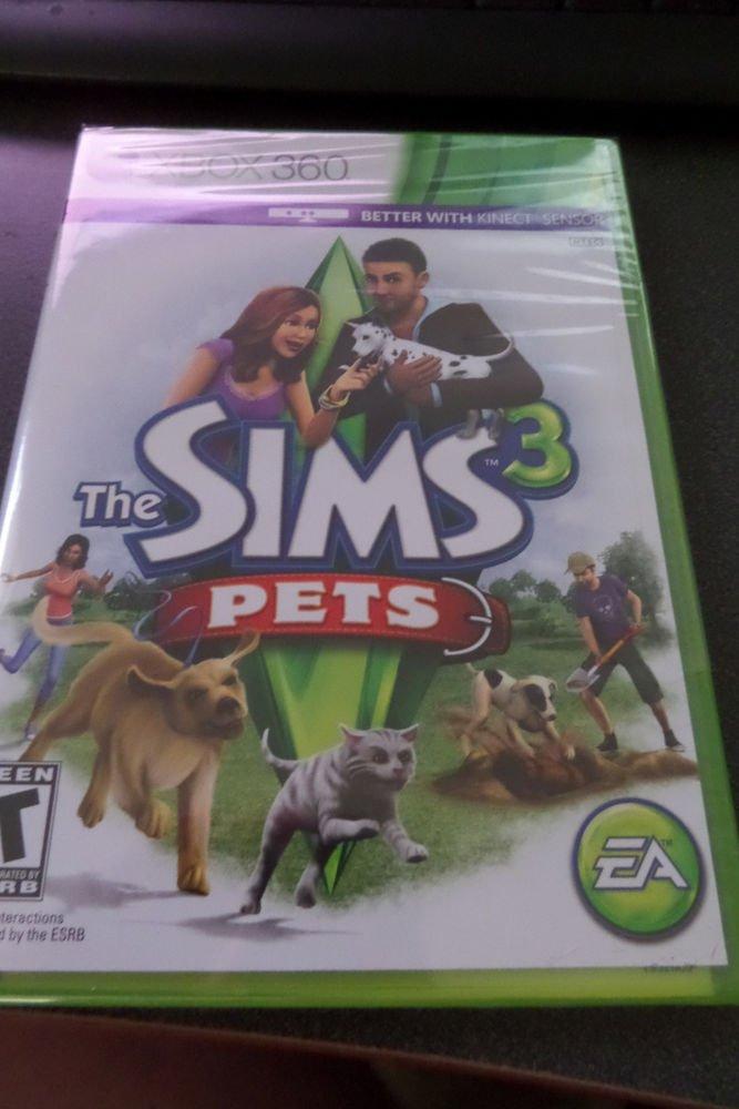 Sims 3: Pets  (Microsoft Xbox 360, 2011)