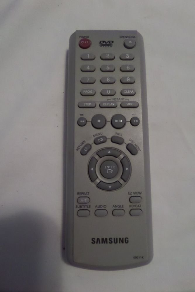Samsung remote control for dvd 00011K