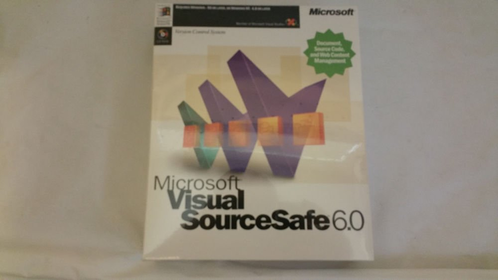 Microsoft Visual Sourcesafe 6.0 New Sealed