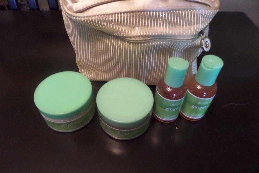 ARBONNE Ginger Citrus Body Butter, Sugar Scrub,  2 Body Wash New Sealed