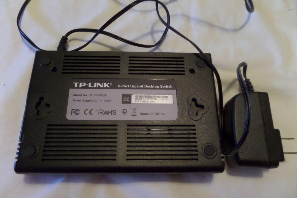 TP-Link TL-SG1008D 8-port Gigabit Desktop Ethernet Switch
