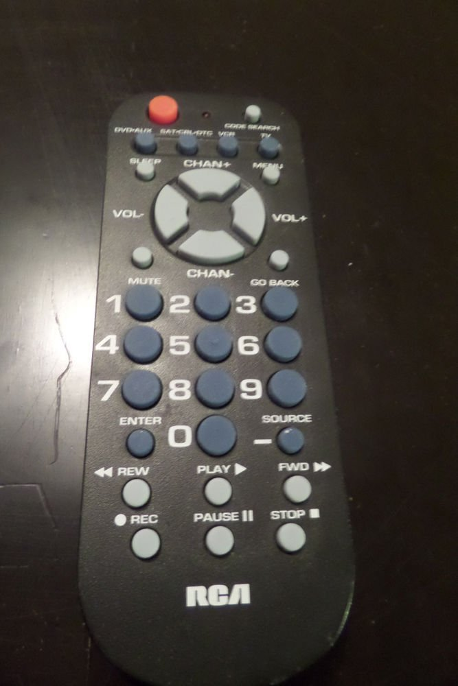 RCA High Quality Durable Remote Control RCR504BR with 4 Functions
