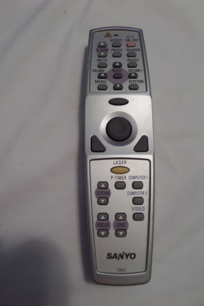 Sanyo CXLZ Remote for Pro Xtra Multiverse Projector