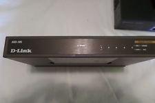 D-Link DGS-105 Unmanaged 5-Port Gigabit Switch