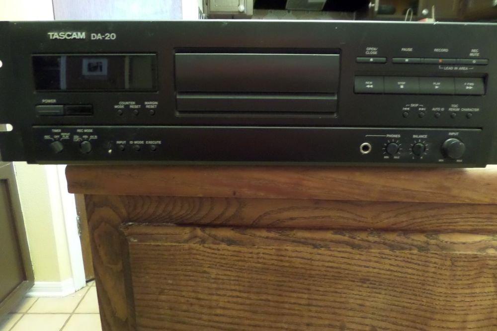 Tascam DA20 DAT Recorder Digital Audio Tape