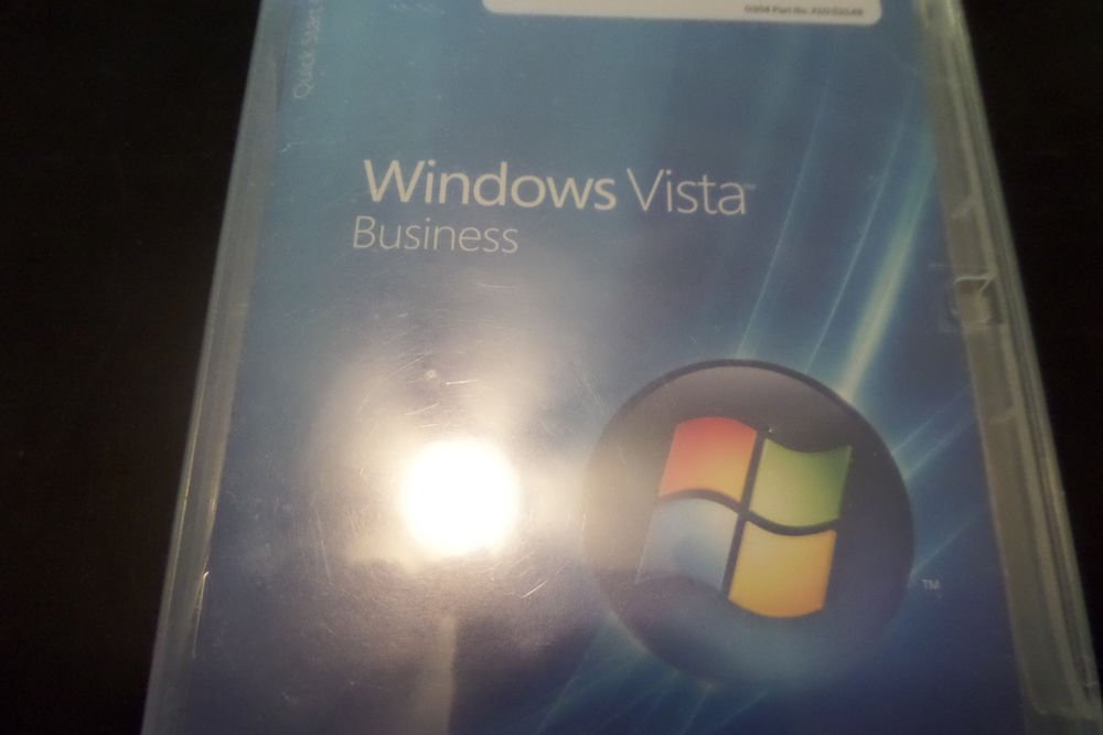 Microsoft Windows Vista Business Edition x64 with Key