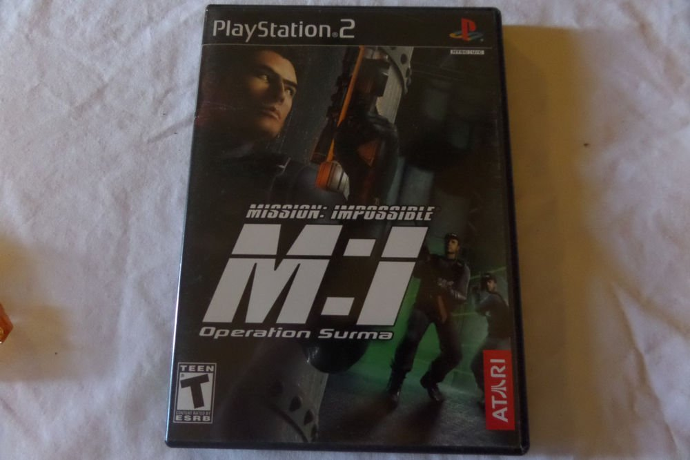 Mission: Impossible -- Operation Surma (Sony PlayStation 2, 2003)