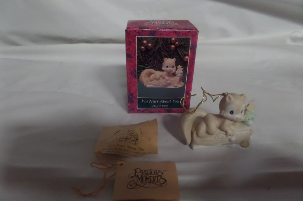 Precious Moments 1992 I'm Nuts About You 520411