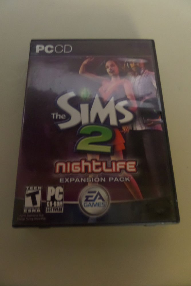 (PC, 2005) The Sims 2: Nightlife