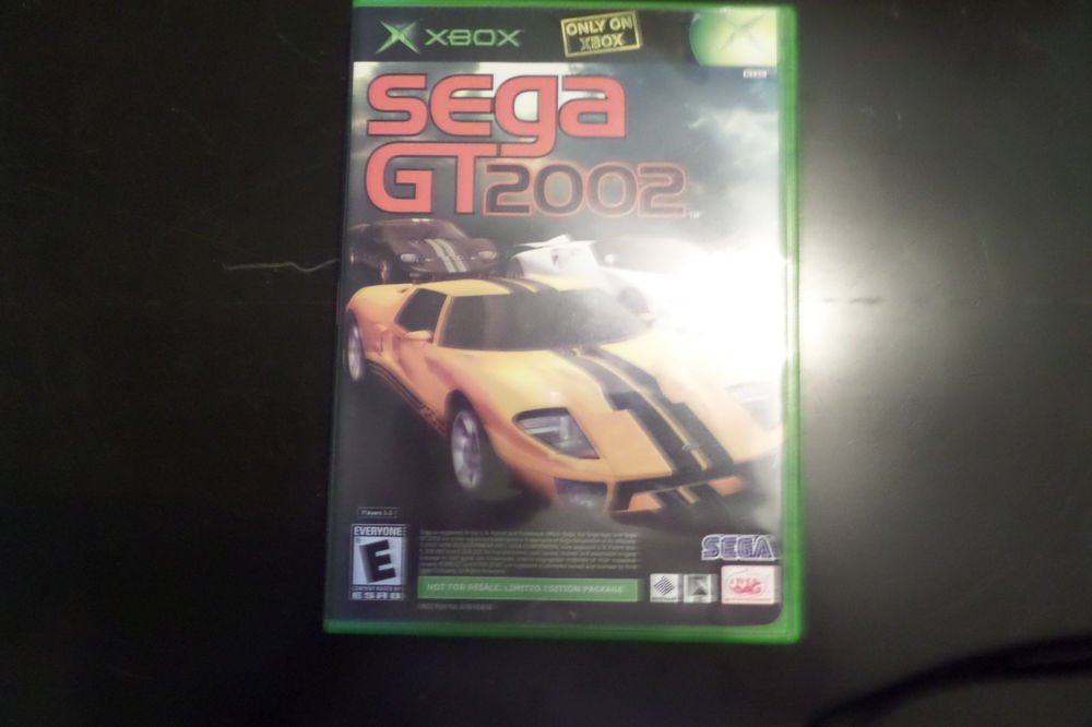 SEGA GT 2002 / Jet Set Radio Future (combo disk) (Microsoft Xbox, 2002)