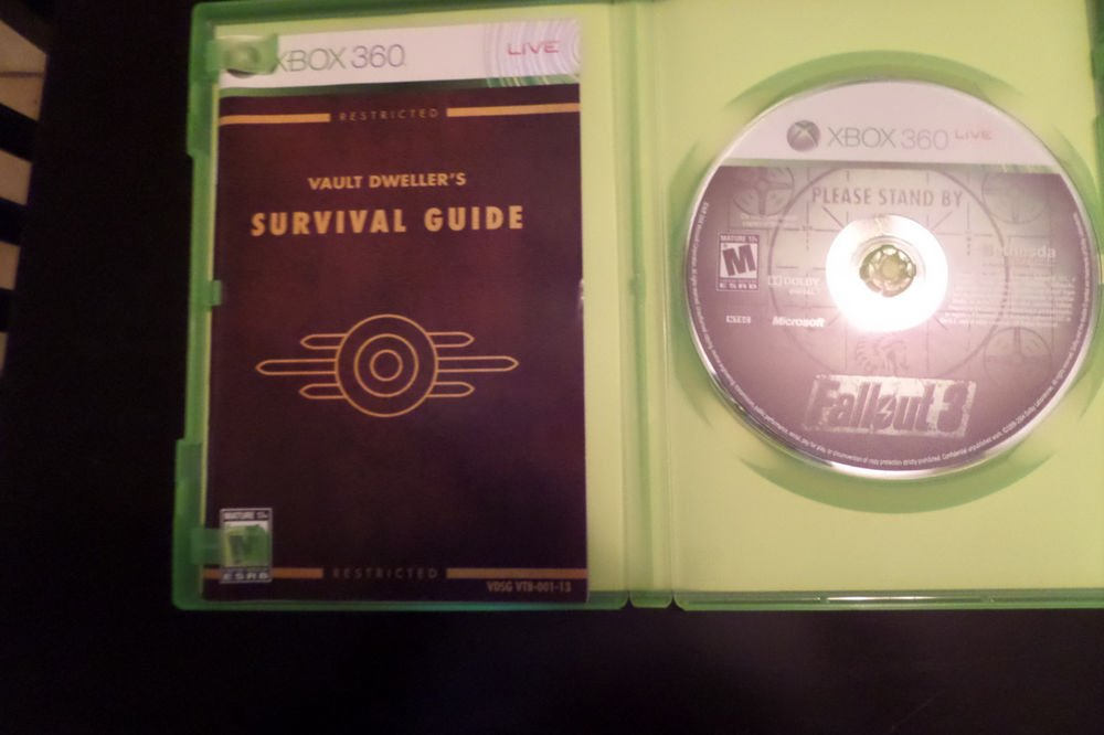 Fallout 3 (Microsoft Xbox 360, 2008)