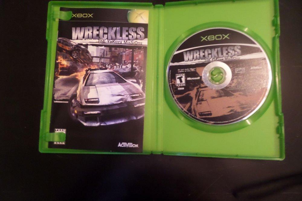 Wreckless: The Yakuza Missions (Microsoft Xbox, 2002)