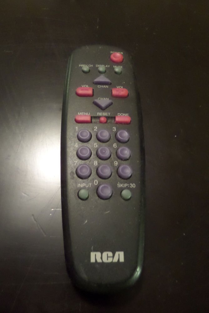 RCA CRK63A1 REMOTE CONTROL 13GP240, 13GP240C03, 13GP240F03, C14200S06
