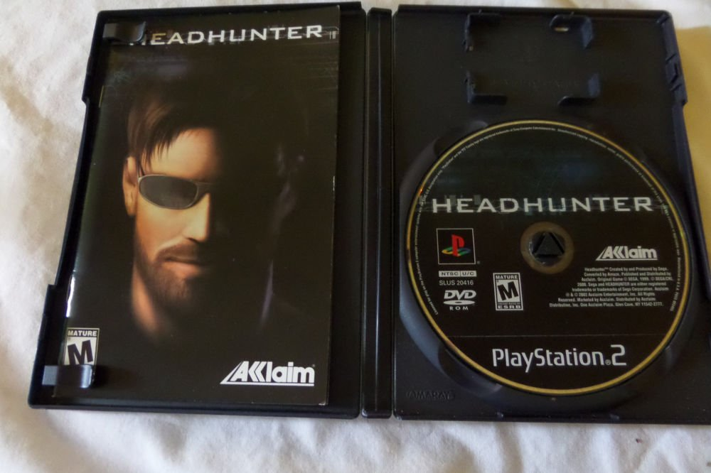 Headhunter (Sony PlayStation 2, 2002)