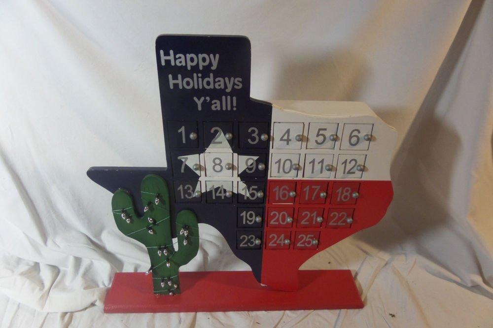 St. Nicholas Square Christmas Texas Advent Calender Kohls