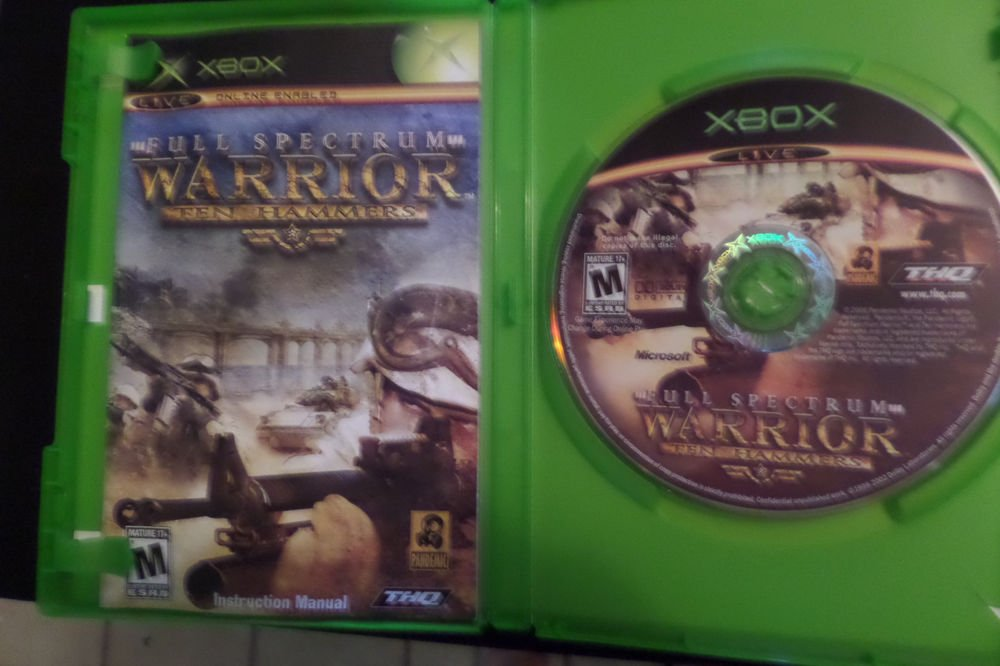 Full Spectrum Warrior: Ten Hammers (Microsoft Xbox, 2006)