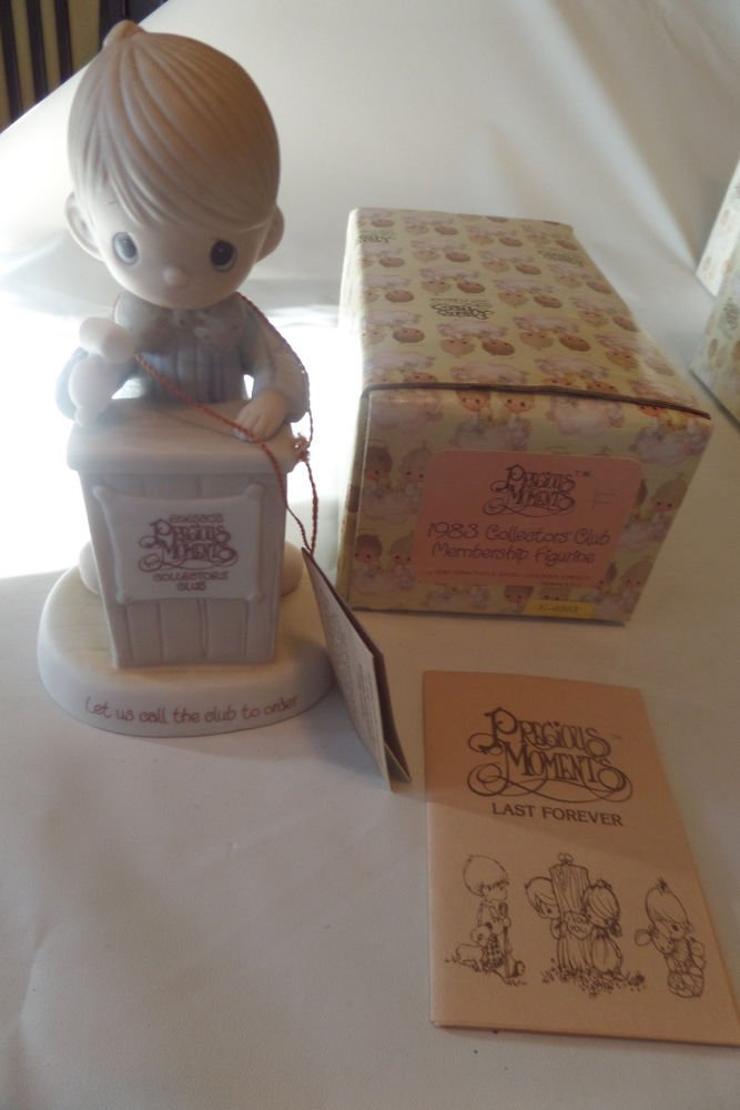 Precious Moments 1983 Collectors' Club Membership Figurine E-0303