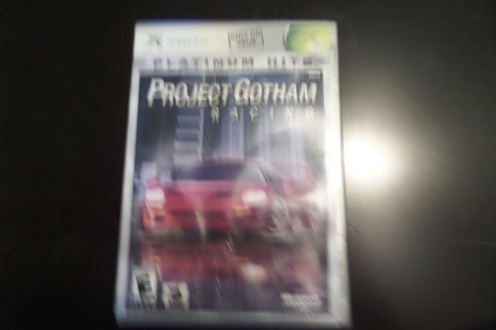 Project Gotham Racing Platinum Hits (Microsoft Xbox, 2003)